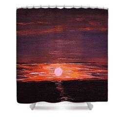 A Little Sun For Gaby Shower Curtain