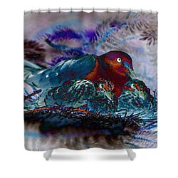 A Mother's Love Shower Curtain