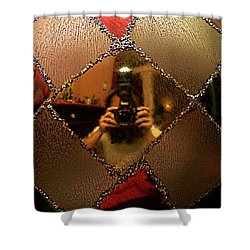Shower Curtain featuring the photograph A Photographer's Christmas Greeting by Trish Mistric