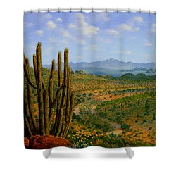 A Place Of Wonder Shower Curtain