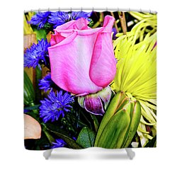 A Rose Among . . . Shower Curtain