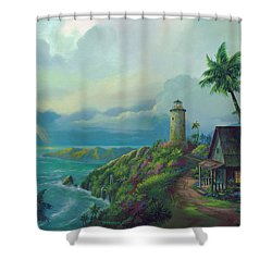 A Small Patch Of Heaven Shower Curtain by Michael Humphries