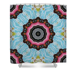 Abstract 2 Shower Curtain by Jeffrey Kolker