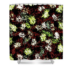 Abstract 5820 Shower Curtain