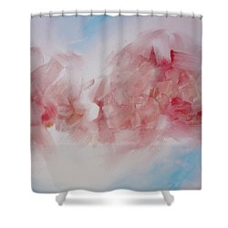 Abstract Art Painting Shower Curtain