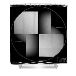 Abstract Female Nude Shower Curtain