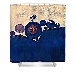 Abstract Painting - Champagne Shower Curtain