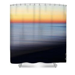 Abstract Sky And Water Shower Curtain
