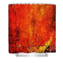Acrylics Shower Curtain