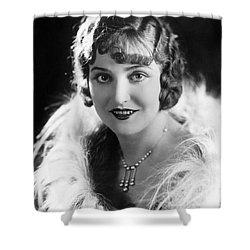 Actress Agnes Ayres Shower Curtain