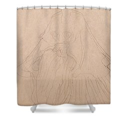 Adele Bloch Bauer Shower Curtain by Gustav Klimt