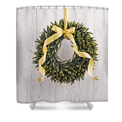 Shower Curtain featuring the photograph Advents Wreath by Ulrich Schade