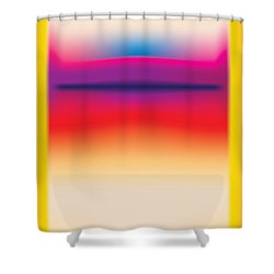 After Rothko 5 Shower Curtain