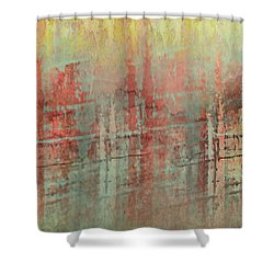 After The Rain Shower Curtain by Jessica Wright