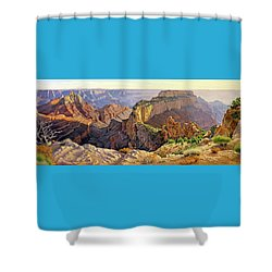 Afternoon-north Rim Shower Curtain by Paul Krapf