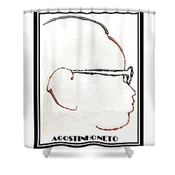 Agostinho Neto Shower Curtain