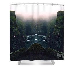 Aillte Collide Shower Curtain