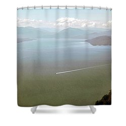 Shower Curtain featuring the photograph Alaska The Beautiful by Madeline Ellis
