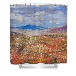 Alaskan Meadow Shower Curtain