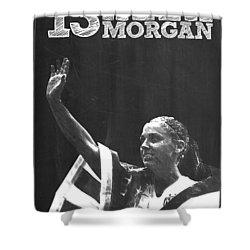 Alex Morgan Shower Curtain