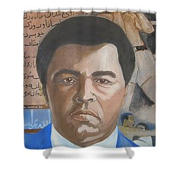 Ali Shower Curtain by Nigel Wynter