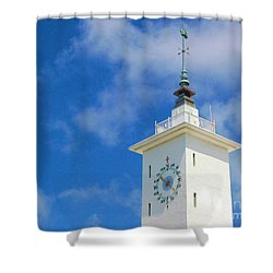 All Along The Watchtower Shower Curtain by Debbi Granruth