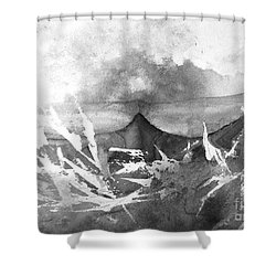 All Is Whale Shower Curtain