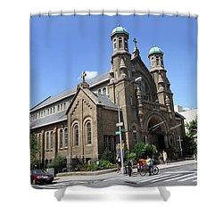All Saints Episcopal Church Shower Curtain