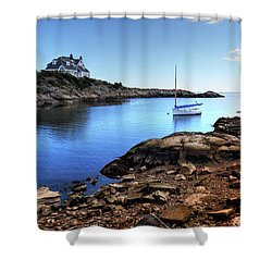 Shower Curtain featuring the photograph Almost Paradise Newport Ri by Tom Prendergast