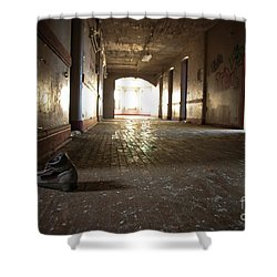 Shower Curtain featuring the photograph Alone by Randall Cogle