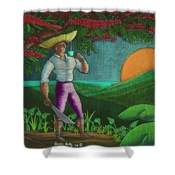 Amanecer En Borinquen Shower Curtain
