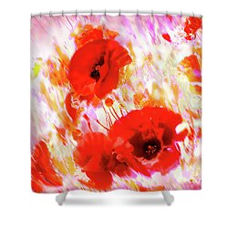 Amapolas Shower Curtain