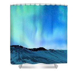 Amazing Northern Light Shower Curtain