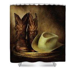 American Cowboy Shower Curtain