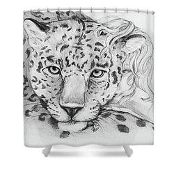 Anam Leopards Shower Curtain
