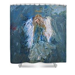 Angel Girl Shower Curtain