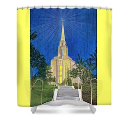 Angel Portal Shower Curtain
