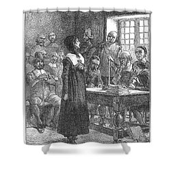 Anne Hutchinson (1591-1643) Shower Curtain by Granger