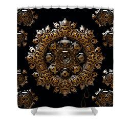 Shower Curtain featuring the digital art April's Fool by Robert Orinski