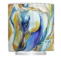 Arabian Abstract Shower Curtain
