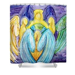 Archangels Shower Curtain