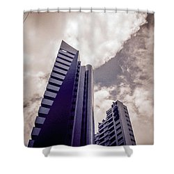 Architecture And Building Shower Curtain by Cesar Vieira