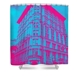 Archtectural Building Shower Curtain