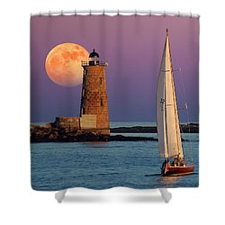 Shower Curtain featuring the photograph Arise  by Larry Landolfi