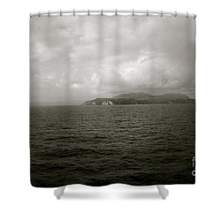 As We Drifted... Shower Curtain