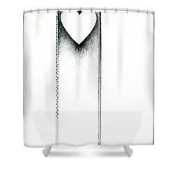 Ascending Heart Shower Curtain