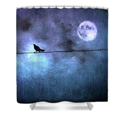 Shower Curtain featuring the photograph Ask Me For The Moon by Jan Amiss Photography
