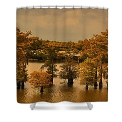Atchafalaya Basin Shower Curtain