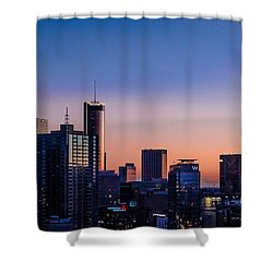 Atlanta Sunset Shower Curtain