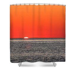 Atlantic Sunrise Shower Curtain